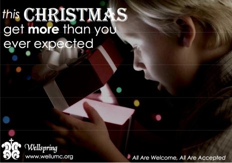 Wellspring Christmas Ad