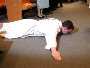 Prostrate Prayer